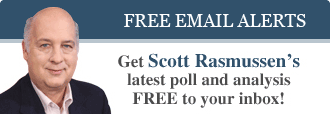 Get Scott Rasmussen's latest poll and analysis FREE to your inbox!