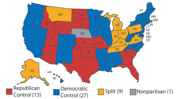 Statehouse Rock Part One Of Three Rasmussen Reports - Denver Circled On Us Map
