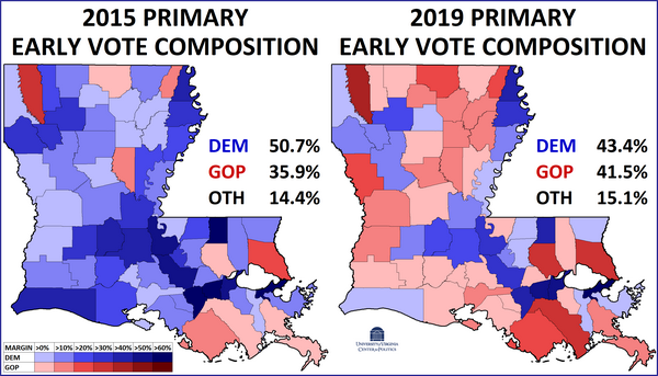 Louisiana 2019: Welcome to the Jungle (Primary) - Rasmussen ...