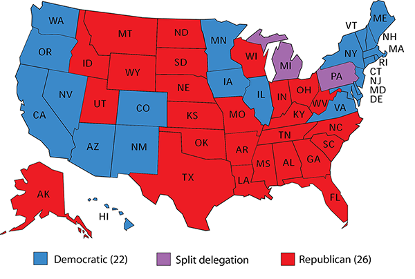 2020 Electoral College: Why the Republicans\' Magic Number is ...