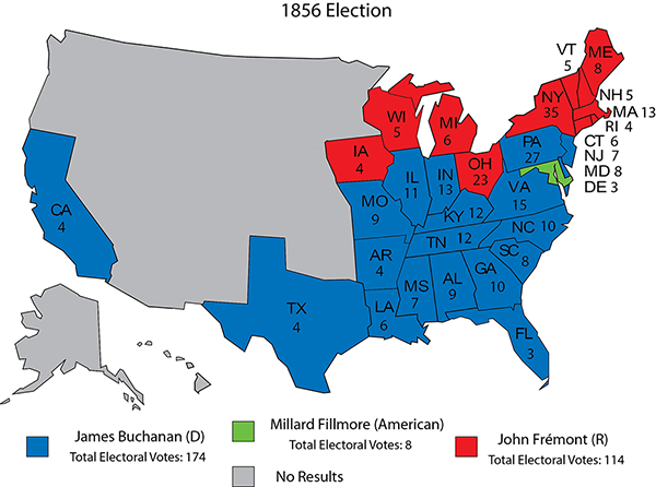 History in Red and Blue (and Green and Purple) - Rasmussen Reports®