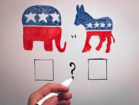 Republicans More Likely To Vote Party Line Than Democrats