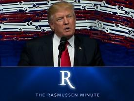 "The Rasmussen Minute: Trump's ""Buy American, Hire American"" Hypocrisy?"