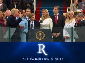 The Rasmussen Minute: President Trump's Inaugural Throw Down